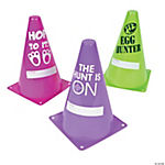Easter Egg Hunt Traffic Cones