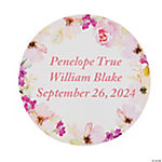 Personalized Garden Party Favor Stickers