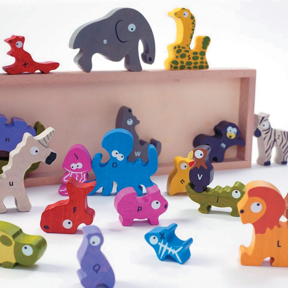 Animal A To Z Puzzle From MindWare