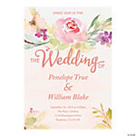 Personalized Garden Party Wedding Invitations