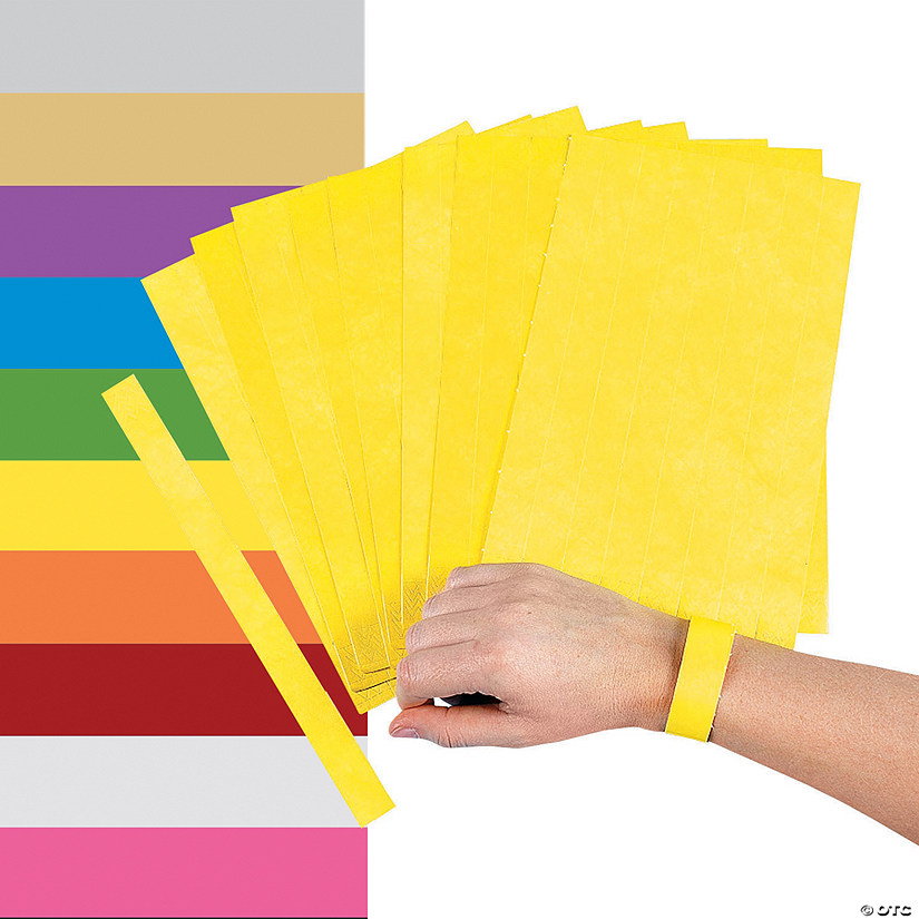 graphic about Printable Wristbands for Events identify Self-Adhesive Wristbands