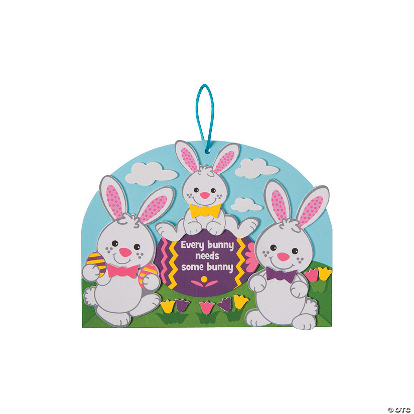 Every Bunny Easter Sign Craft Kit Discontinued