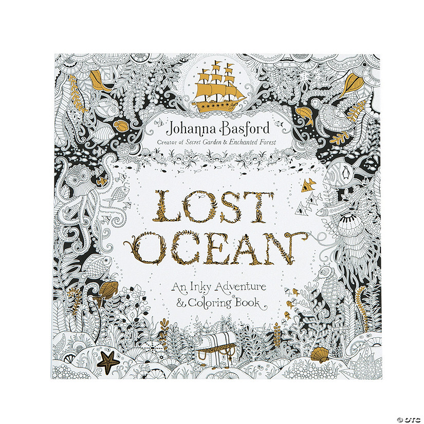 Lost Ocean Coloring Book - Discontinued
