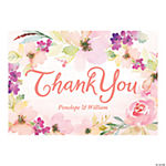 Personalized Garden Party Thank You Cards