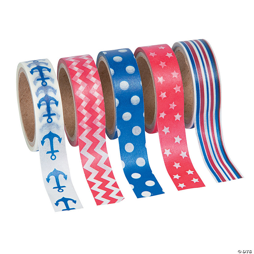 Nautical Washi Tape Set Oriental Trading