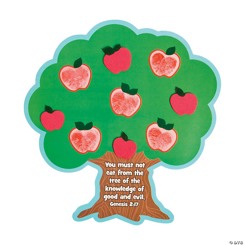 Tree Of Knowledge Thumbprint Magnet Craft Kit Oriental Trading