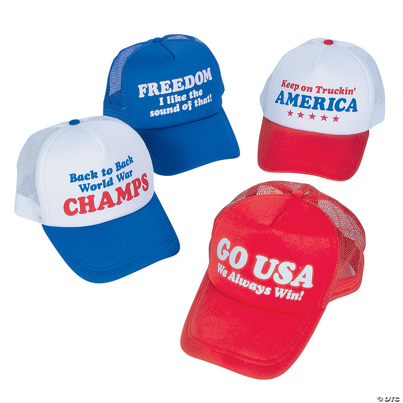 Patriotic Trucker Hats 55c38d3cd7e3