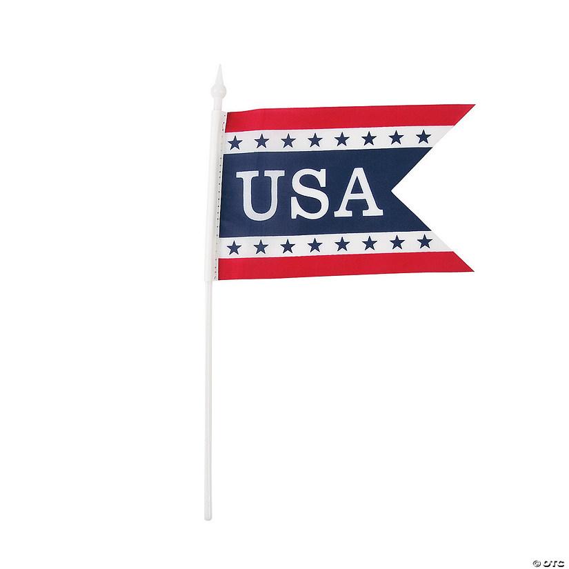 Pennant Shaped Mini Usa Flags Discontinued