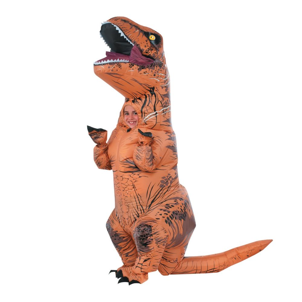 Kid's Inflatable Jurassic World(TM) T-Rex Costume