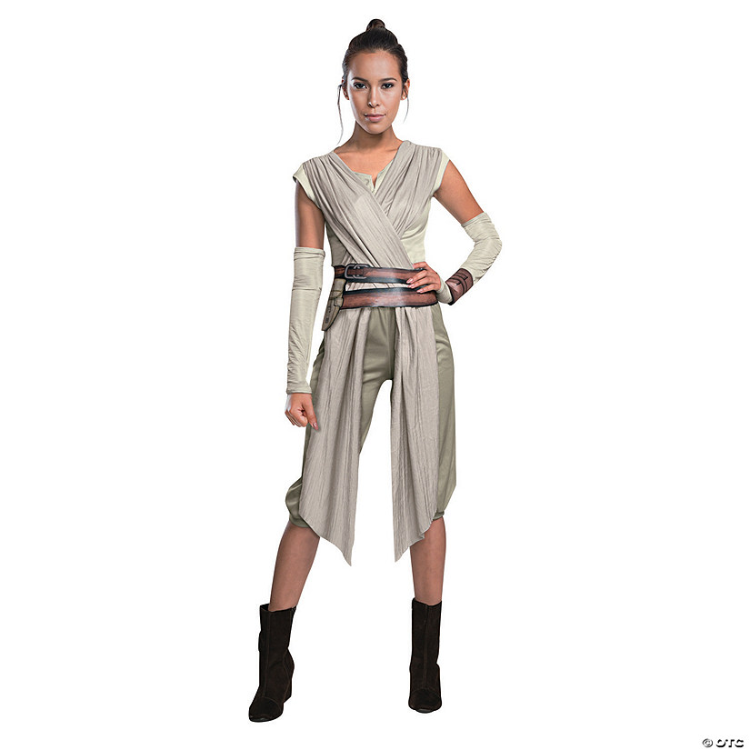 Star Wars Halloween Costumes.Women S Star Wars The Force Awakens Deluxe Rey Costume