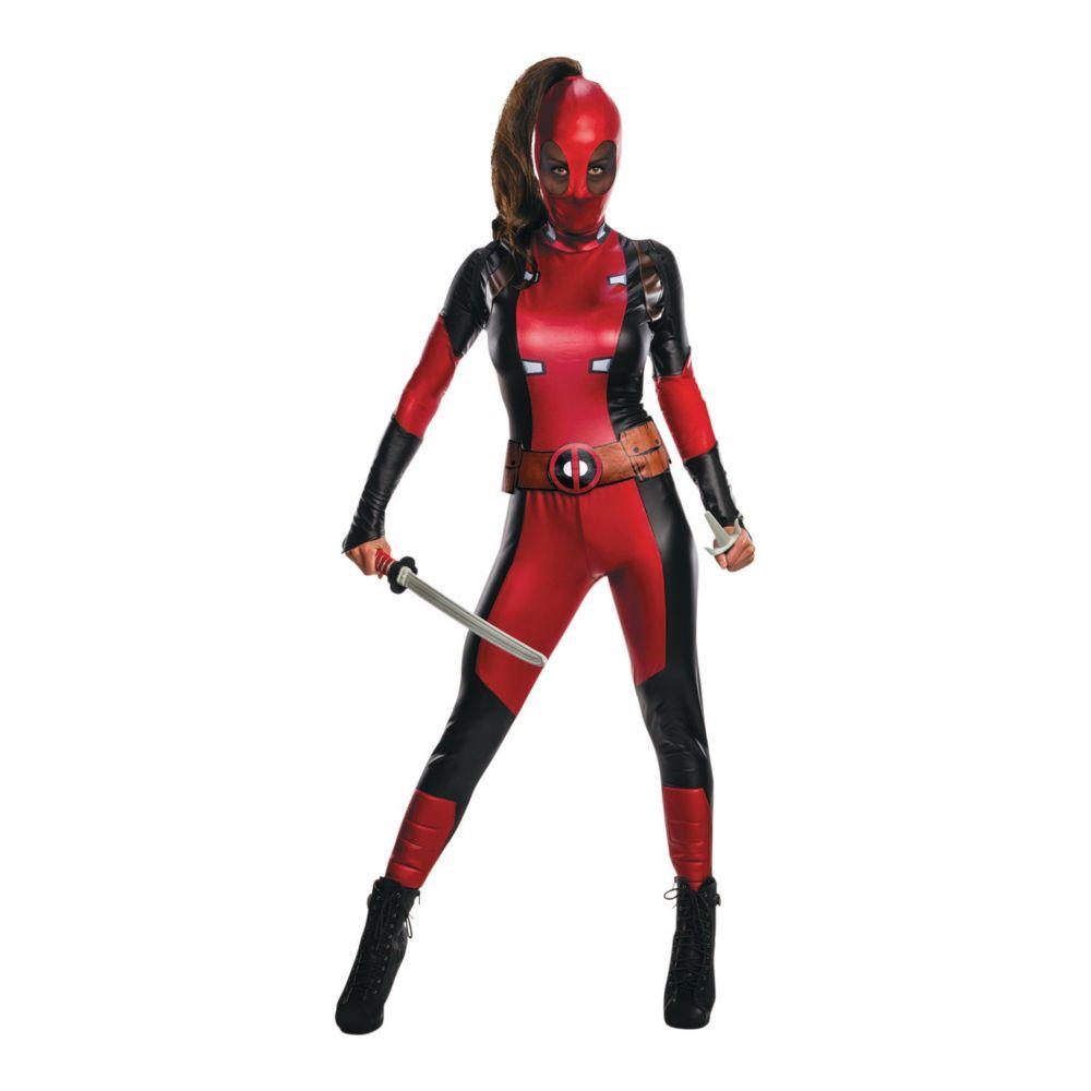 Women's Secret Wishes Deadpool(TM) Costume - Extra Small