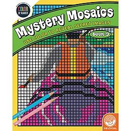 Color by Number - Mysetery Mosaics Book 9