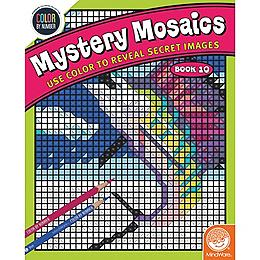Color by Number - Mysetery Mosaics Book 10