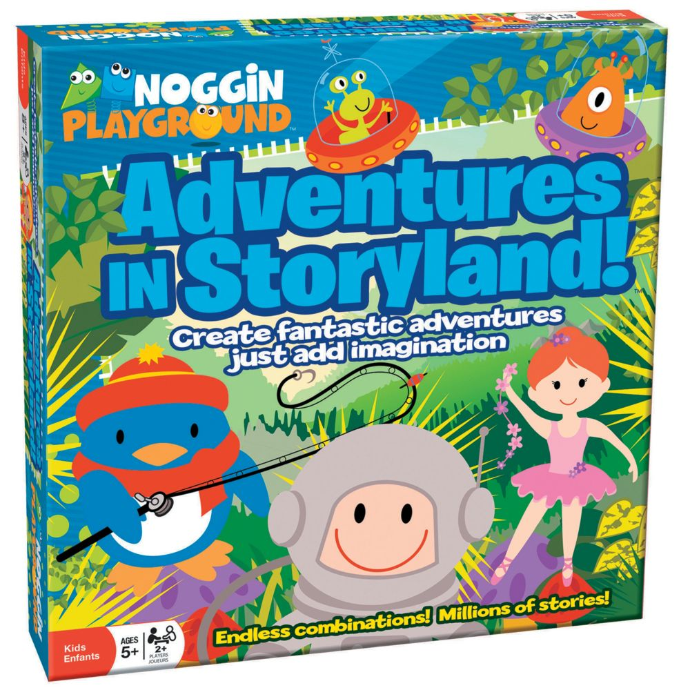 Advs In Storyland Childrens Game From MindWare