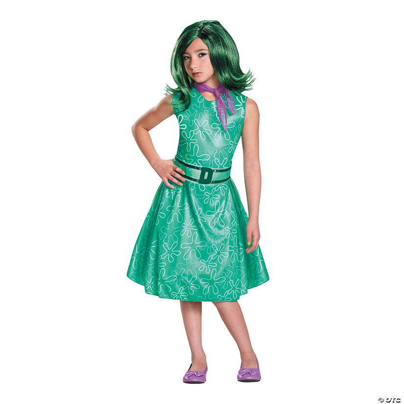 811b197e6d7 Girl's Classic Inside Out™ Disgust Costume