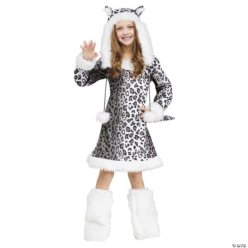 3b87f32dd6cc Girl's Snow Leopard Costume | Oriental Trading