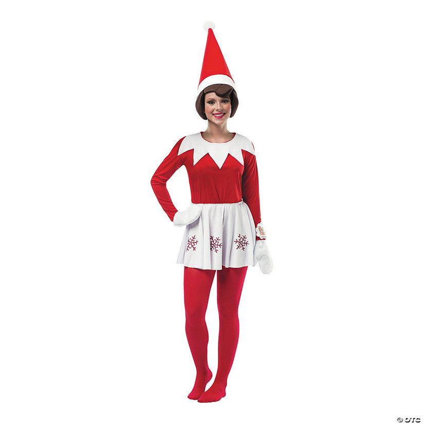 Christmas Elf Costume.Women S Elf On The Shelf Costume