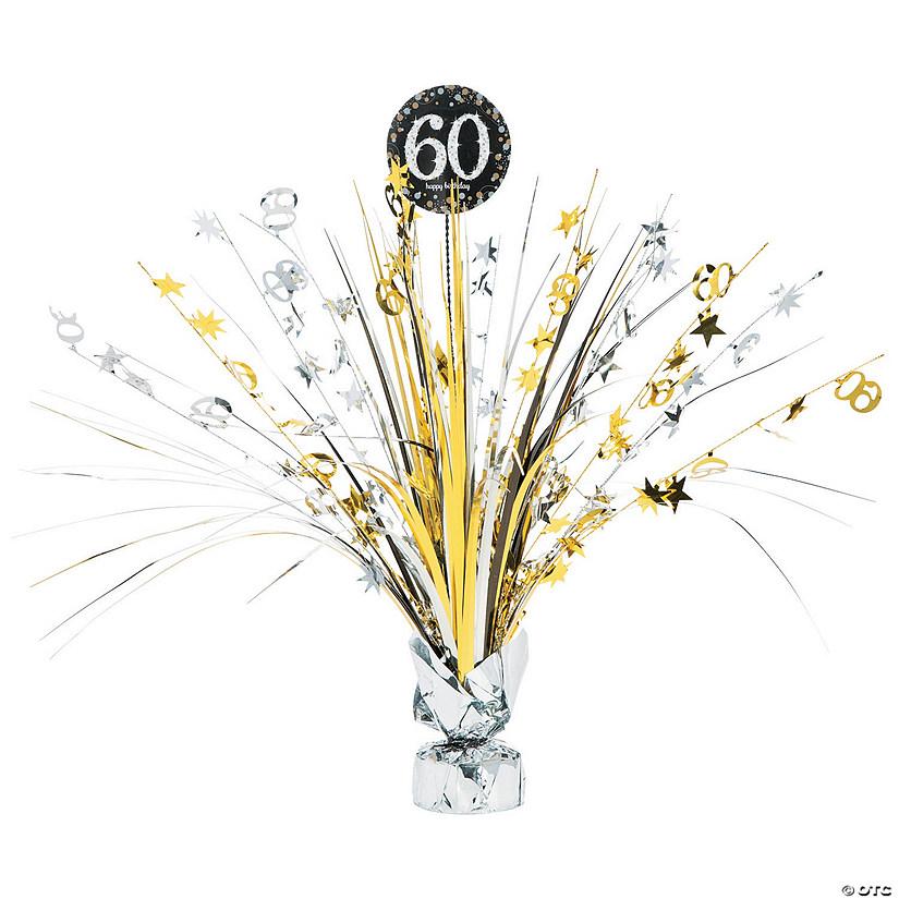 Sparkling Celebration 60th Birthday Centerpiece
