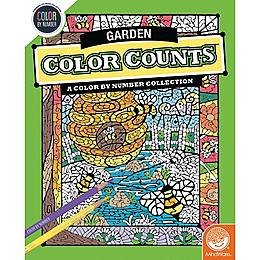 Color by Number Color Counts - Gardens