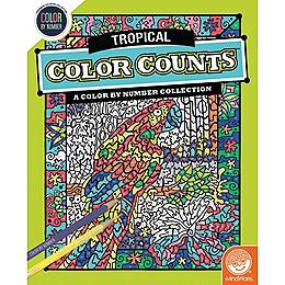 Color by Number Color Counts - Tropical
