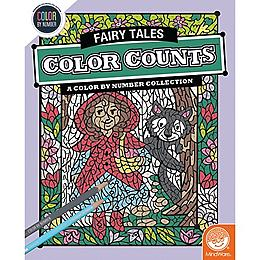 Color by Number Color Counts - Fairy Tales