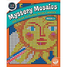 Color by Number - Mysetery Mosaics Book 1