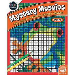 Color by Number - Mysetery Mosaics Book 2