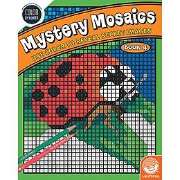 Color by Number - Mysetery Mosaics Book 4