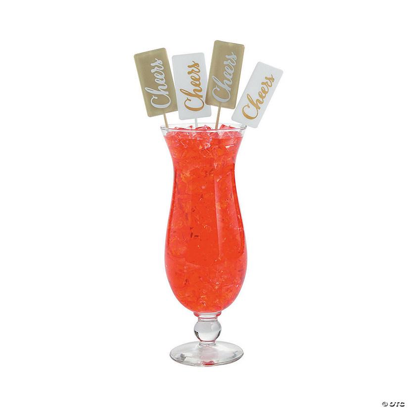 cheers champagne stir sticks