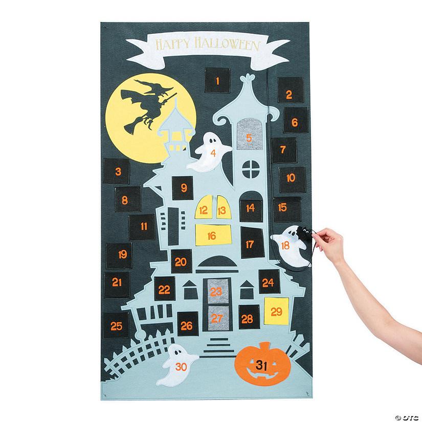 Countdown Calendar Halloween Decoration