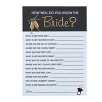 quickview image of bridal shower trivia game with sku13776660