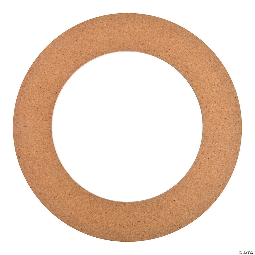 Diy Unfinished Wood Large Floral Craft Rings Discontinued