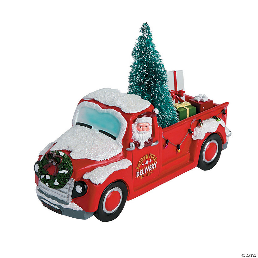 Car Christmas Tree Topper.Vintage Christmas Table Topper Discontinued