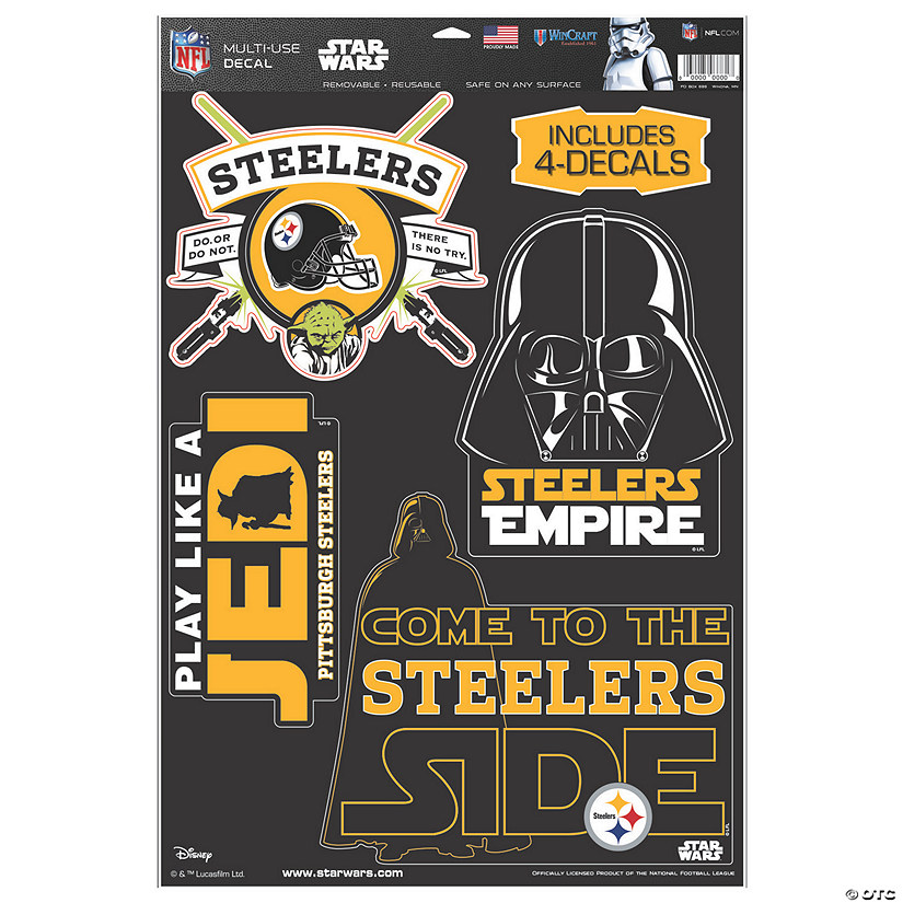 57e63438 NFL® Pittsburgh Steelers™ Star Wars™ Decals