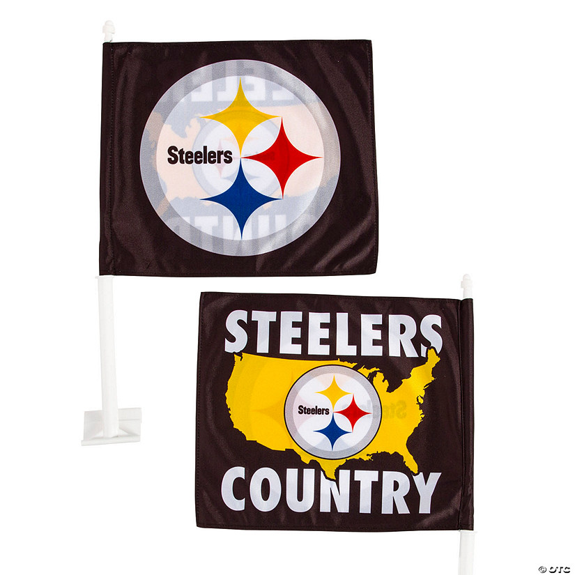 Nfl Pittsburgh Steelers Car Flag Discontinued