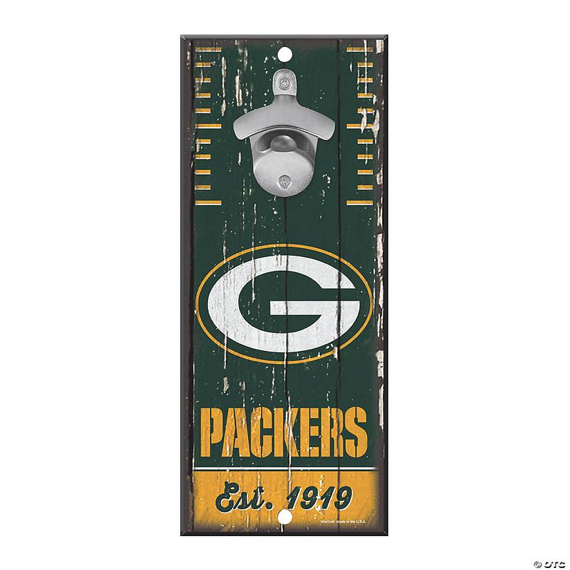 e5dd66fb NFL® Green Bay Packers™ Bottle Opener Sign