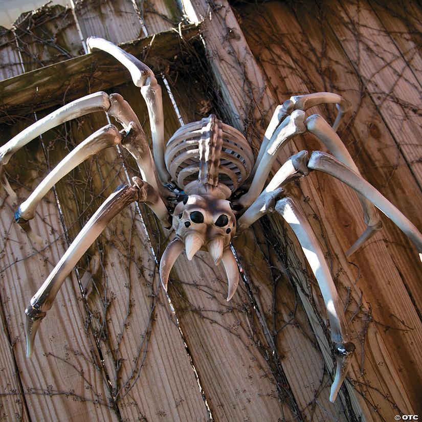 Giant Spider Skeleton Halloween Decoration