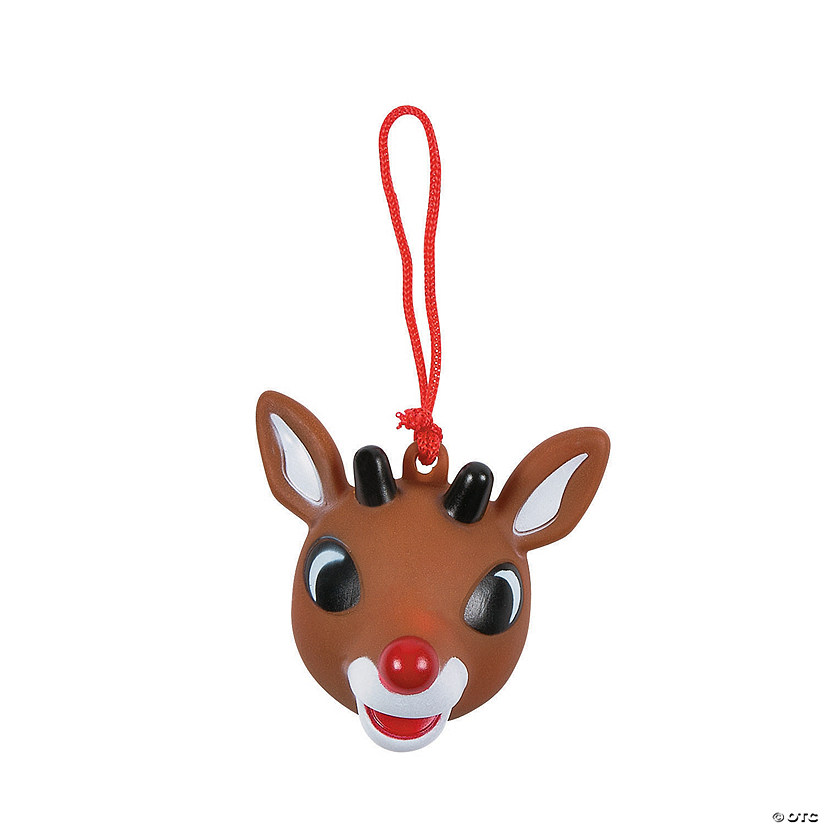 Rudolph Christmas Decorations.Rudolph The Red Nosed Reindeer Light Up Ornaments