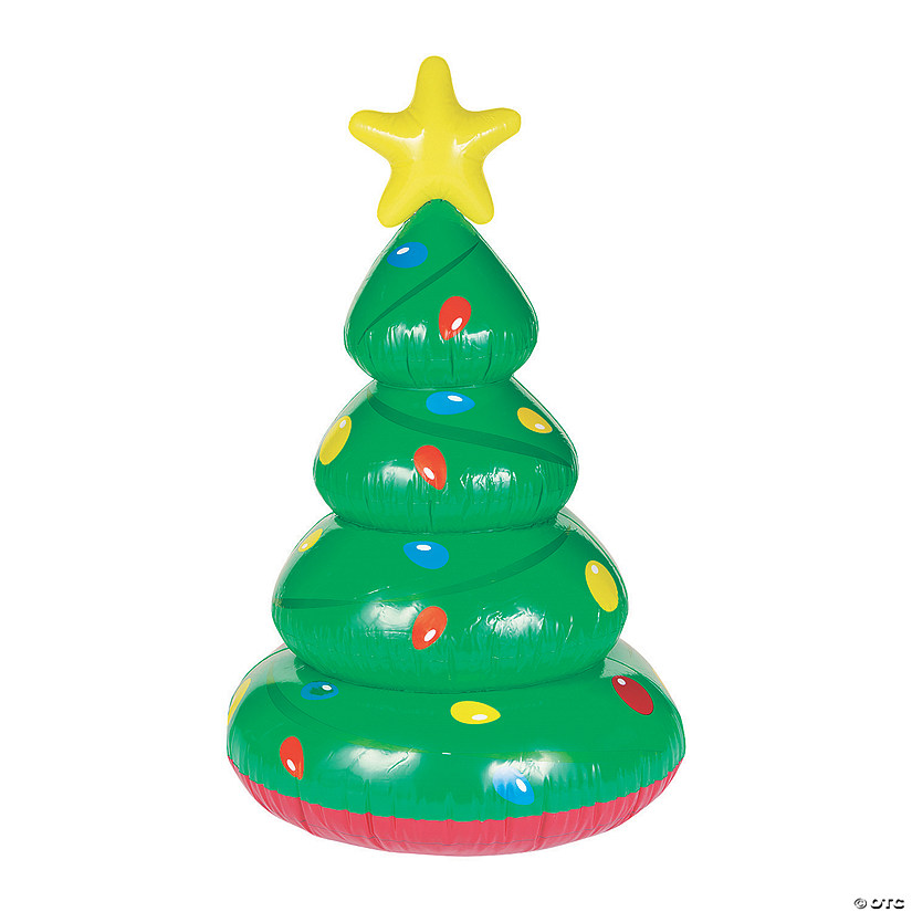 large inflatable christmas tree