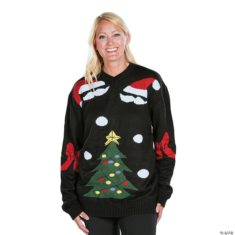 black ugly christmas sweater - Black Christmas Sweater