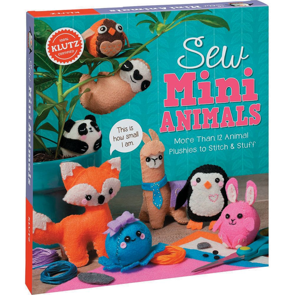 Sew Mini Animals From MindWare
