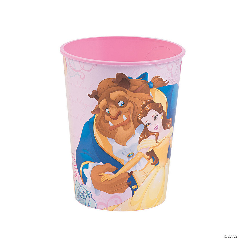 Plastic Cup Beauty and the Beast Disney Princess Birthday Party Favor 16 oz