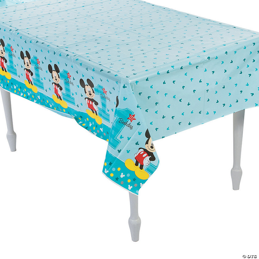 Disney Mickey S Fun To Be One Plastic Tablecloth