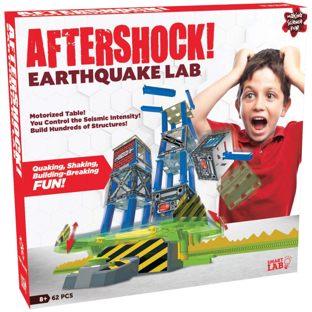 Aftershock Earthquake Lab From MindWare