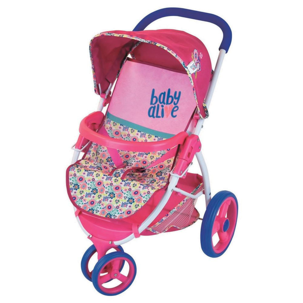 baby Alive Lifestyle Miami Stroller Toy From MindWare