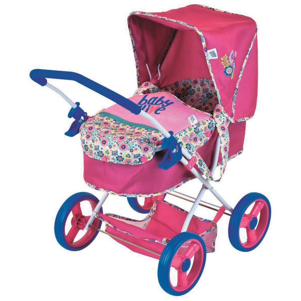 Baby Alive Doll Gini Pram Toy From MindWare