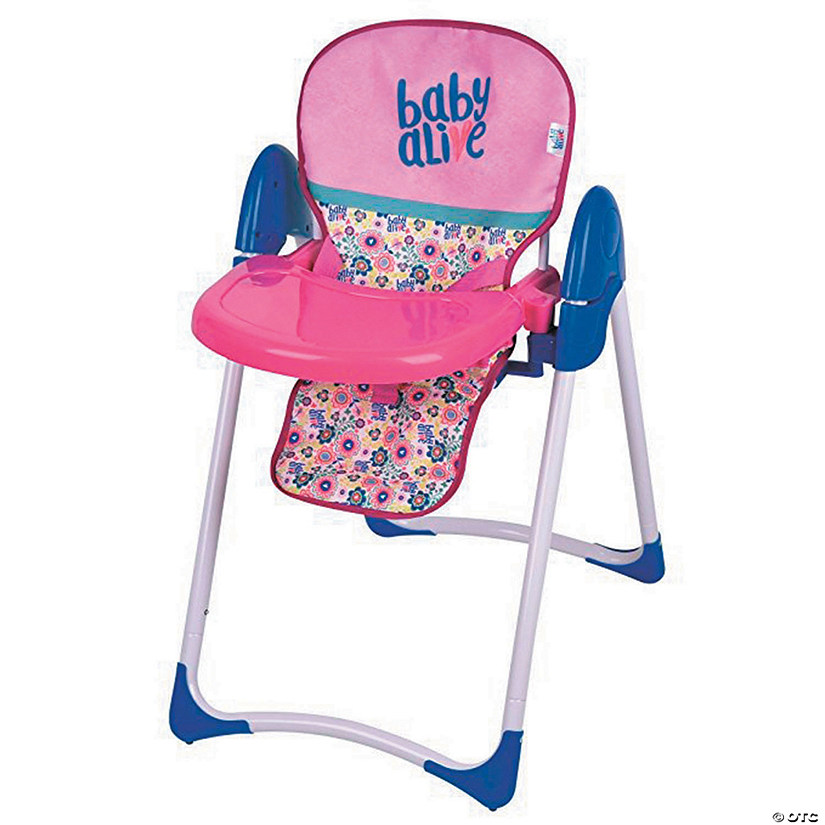 Baby Alive Doll Deluxe High Chair Discontinued