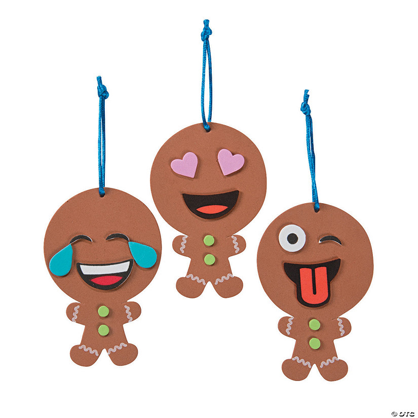Emoji Gingerbread Ornament Craft Kit