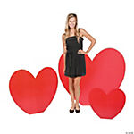 Large Valentine's Day Heart Stand-Ups