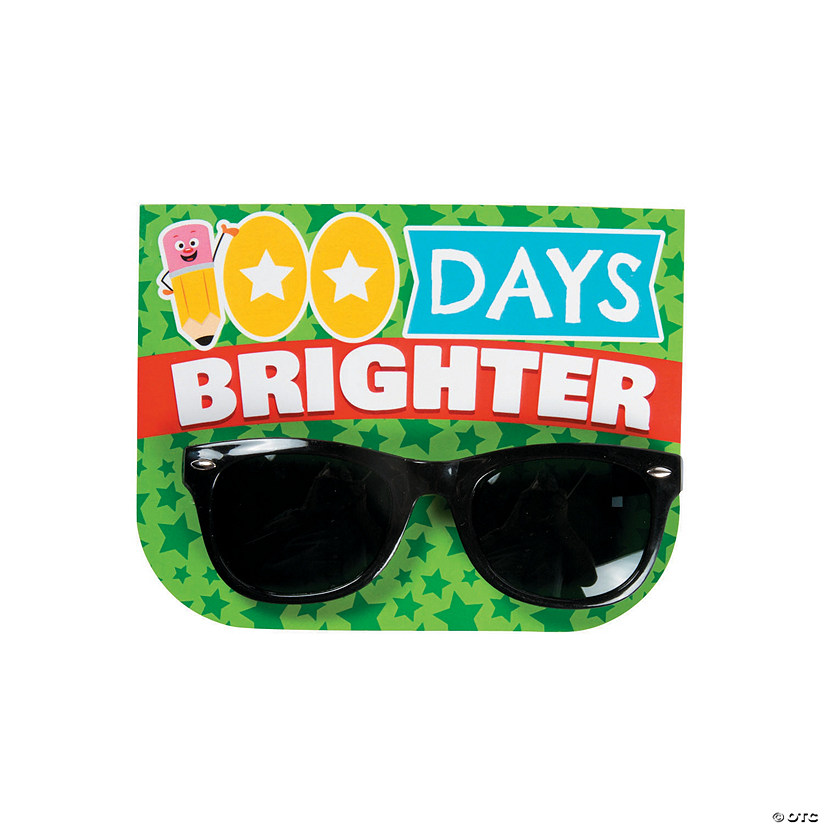 3f07bdeeb56 100 Days Brighter Sunglasses with Card